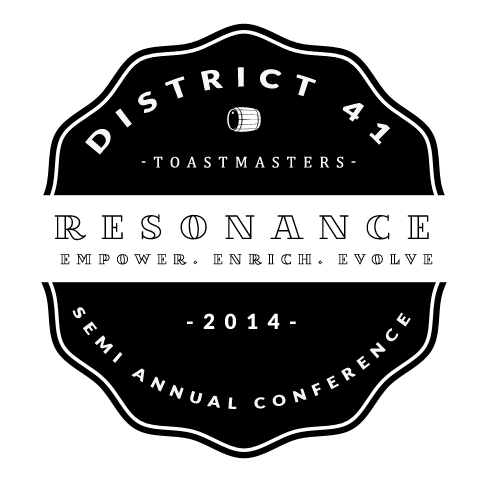 Logo design for Toastmasters Conference